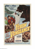 Movie Posters:Adventure, Yukon Vengeance (Allied Artists, 1954)...
