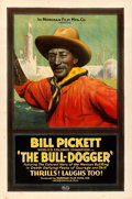 Movie Posters:Black Films, The Bull-Dogger (Norman, 1921). Fine+ on Linen. On...