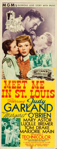 Movie Posters:Musical, Meet Me in St. Louis (MGM, 1944). Folded, Fine/Very Fine.