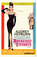 "Movie Posters:Romance, Breakfast at Tiffany's (Paramount, 1961). Fine+ on Linen. One Sheet(27"" X 41"") Robert McGinnis Artwork.. ..."