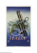 Vintage Posters:Miscellaneous, Italia (Graf. Coen and C Milan, 1935)...