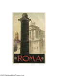 Vintage Posters:Travel, Roma (ENIT,Circa 1930)...