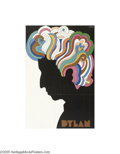 Vintage Posters:Miscellaneous, Dylan by Glaser (Circa 1966)...