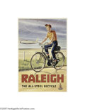 Vintage Posters:Advertising, Raleigh Bicycles (Causton and Sons, Circa 1960's)...