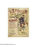 Vintage Posters:Miscellaneous, L'Etoile Bicycles (Charles Verneau, Circa 1915)...