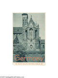 Vintage Posters:Travel, Germany, East Prussia, The Marienburg (Dortmund: Busche-Druck,1933)...