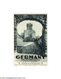 Vintage Posters:Miscellaneous, Germany In the Moselle Country (Busche-Druck, Dortmund, Germany,1933))...
