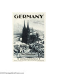 Vintage Posters:Miscellaneous, Germany, The Rhineland (Johannes Passler, Dresden, 1933)...