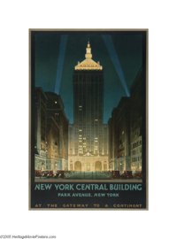 New York Central Building (Latham Litho and PTG. Co., Long Island, NY, 1930)