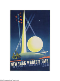 New York World's Fair (Grinnell Litho, 1939)