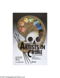 Vintage Posters:Advertising, PBS Masterpiece Theatre, Artists in Crime (1992)...