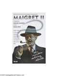 Vintage Posters:Advertising, PBS Masterpiece Theatre, The Heat of the Day, Maigret II (1990)...(2 items)