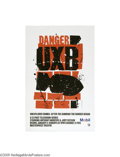 Vintage Posters:Advertising, PBS Masterpiece Theatre, Danger UXB (1980)...