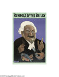 Vintage Posters:Advertising, PBS Masterpiece Theatre, Rumpole of the Bailey (1980)...