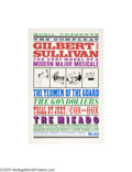 Vintage Posters:Advertising, PBS Masterpiece Theatre, The Compleat Gilbert and Sullivan(1990)...