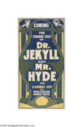 Vintage Posters:Advertising, The Strange Case of Dr. Jekyll (National Print-Chicago, 1890)...