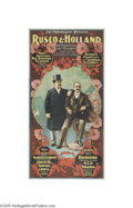 Vintage Posters:Music, Rusco & Holland (National, 1898)...