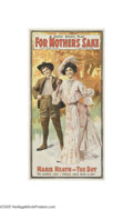 Vintage Posters:Advertising, For Mother's Sake (U.S. Lithograph Co. Russell & Morgan Print,1903)...