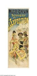 Vintage Posters:Music, Jules Cheret's Musee Grevin (Imp. Chaix, 1889)...