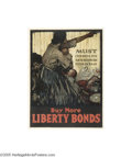 Vintage Posters:WWI, Must Children Die and Mothers Plead in Vain? (Sackett and Wilhelms Corp., 1918)...
