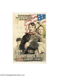 Vintage Posters:Miscellaneous, Remember the Flag of Liberty, Support It (Heywood Strasser &Voigt Litho Co., 1918)...