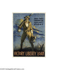 Vintage Posters:Miscellaneous, And They Thought We Couldn't Fight-Victory Liberty Loan (Kettterlinus Philadelphia, 1918)...