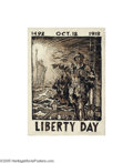 Vintage Posters:WWI, Liberty Day (Powers Photo Engraving, 1918)...