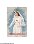 Vintage Posters:WWI, Third Red Cross Roll Call (American Lithographic Co., 1918)...