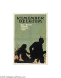 Vintage Posters:WWI, Remember Belgium (U.S. Printing and Litho Co., 1918)...