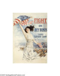 Vintage Posters:Miscellaneous, Fight or Buy Bonds (Forbes, 1917)...