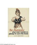 Vintage Posters:WWI, Be Patriotic (W.F. Powers Litho Co., 1918)...