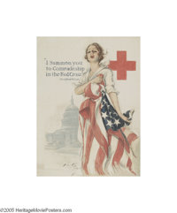 I Summon You To Comradeship in the Red Cross (American Lithographic Co., 1917)