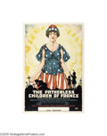 Vintage Posters:WWI, Fatherless Children of France (Erie Litho, 1917)...