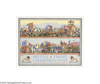 Pageant of Empire Builders British Empire Exhibition (1924)... (2 items)