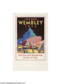 British Empire Exhibition 1925 Wembley, The New Wembley (Dangerfield Printing Co. Ltd. London, 1925)