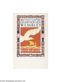 Vintage Posters:Travel, British Empire Exhibition 1925 Wembley, Treasure From Overseas(Dangerfield Printing Co. Ltd. London, 1925)...