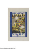 Vintage Posters:Travel, British Empire Exhibition 1925 Wembley, Life and Light (DangerfieldPrinting Co. Ltd. London, 1925)...