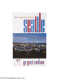 Vintage Posters:Travel, Great Northern Railway-Seattle (1963)...