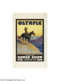 Vintage Posters:Travel, Olympia Horse Show (J. Weiner Ltd. London, 1930)...