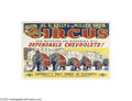 Vintage Posters:Miscellaneous, Kelly and Miller Brothers Circus (Circa 1948)...