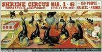 Shrine Circus-Seals (Circa 1935)
