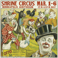 Shrine Circus-Clowns (Circa 1935)