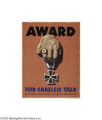 Award For Careless Talk (U.S. Government Printing Office, 1944)