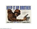 Vintage Posters:WWII, This War's Not Won By a Damn Sight (U.S. Government PrintingOffice, 1943)...