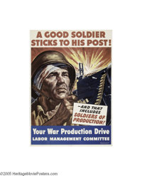 A Good Soldier Sticks To His Post (U.S. Government Printing Office, 1943)