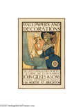 Vintage Posters:Miscellaneous, Wallpapers and Decoration,Brighton (J.J.Keliher and Co., Circa1900)...