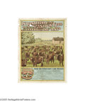 Vintage Posters:Miscellaneous, International Stock Food- Cattle (Litho Dept. Int'l. S.F.Co.,Circa1900)...