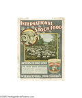 Vintage Posters:Miscellaneous, International Stock Food Co.-Sheep (Litho Dept. Int'l. S.F.Co., Circa 1895)...