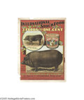 Vintage Posters:Miscellaneous, International Stock Foods-Hogs (Litho Dept. Int'l. S.F.Co.,Circa1895)...