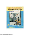 "Vintage Posters:Advertising, Saturday Evening Post (Curtis Publishing Co., 1958) Newsstand Flyer(21.5"" X 28"")..."